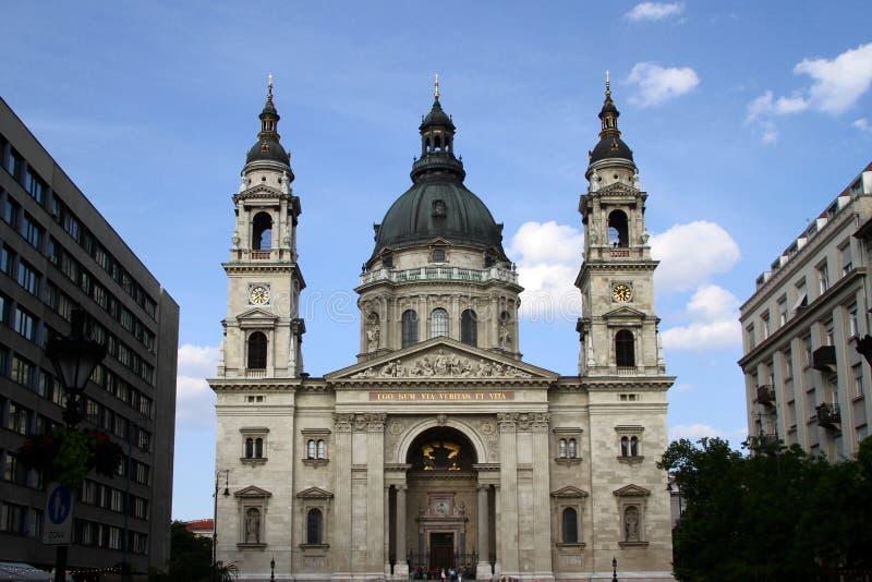 圣斯蒂芬大教堂在布达佩斯 免版税库存图片