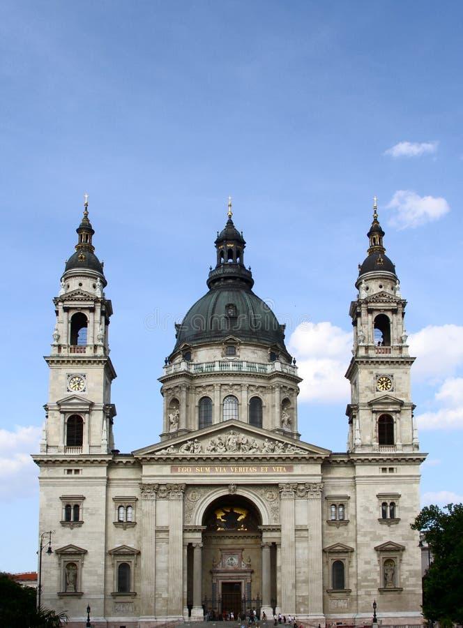 圣斯蒂芬大教堂在布达佩斯 库存图片