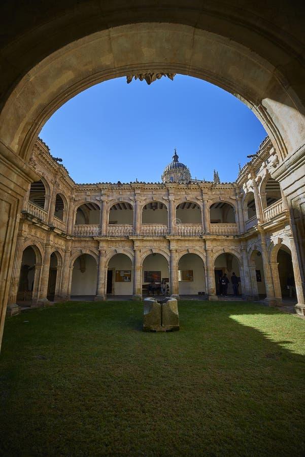 圣斯蒂芬女修道院  索托楼梯 萨拉曼卡 西班牙 免版税库存照片