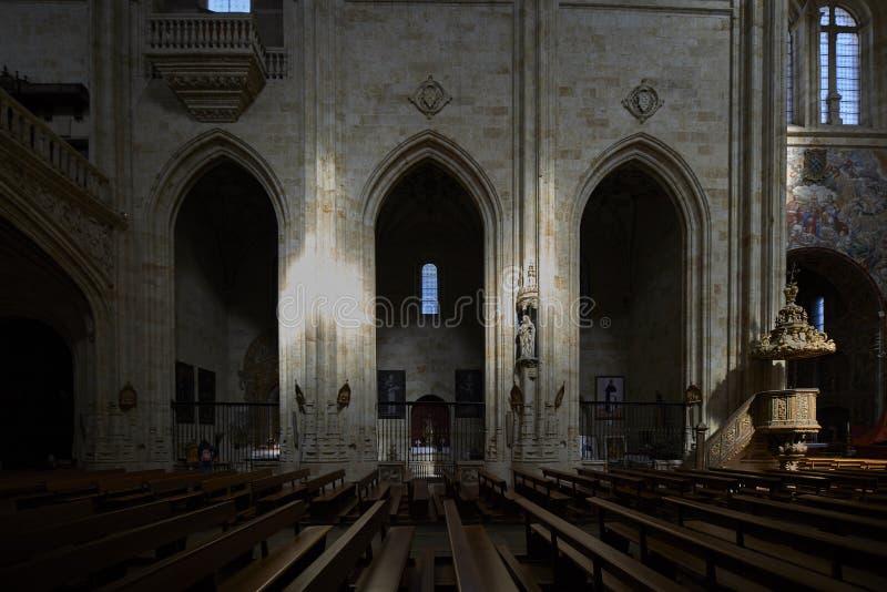 圣斯蒂芬女修道院  索托楼梯 萨拉曼卡 西班牙 库存图片