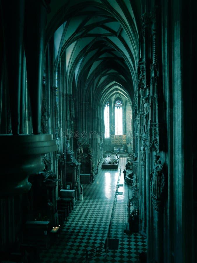 圣斯蒂芬的大教堂在维也纳 库存照片