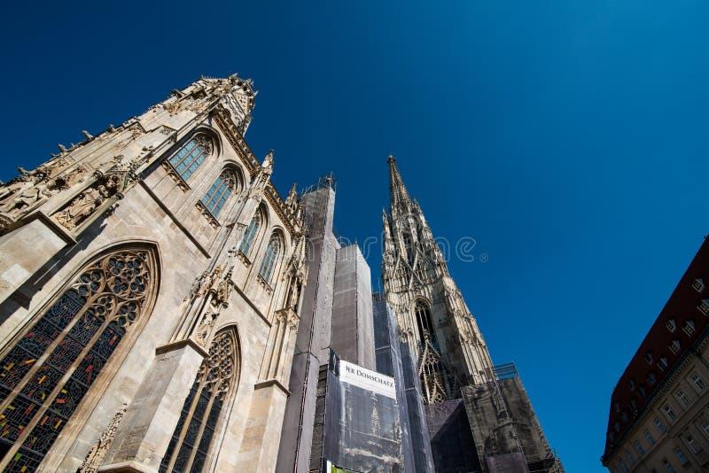 圣斯蒂芬& x27; s大教堂,维也纳 图库摄影