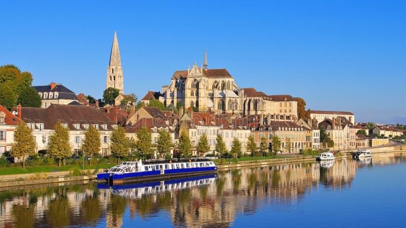 圣日耳曼d `欧塞尔修道院  免版税图库摄影