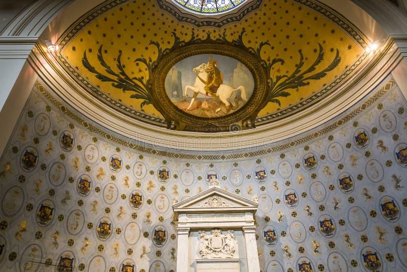圣日耳曼en Laye,法国修道院  库存图片