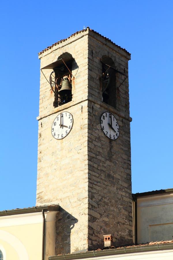 圣母教堂钟楼 免版税库存图片