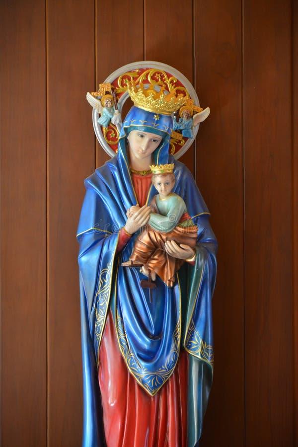圣母玛丽亚天主教徒 免版税图库摄影