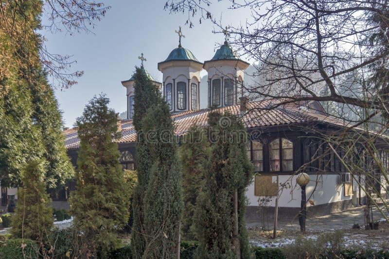圣母玛丽亚的教会做法在丘斯滕迪尔,保加利亚镇  库存图片