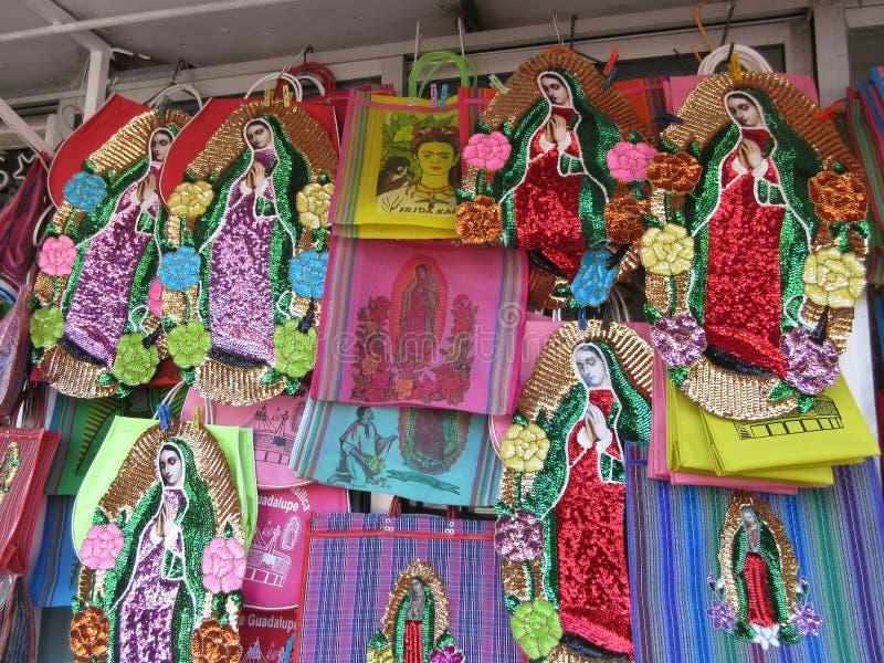 圣母玛丽亚纪念品 免版税库存图片
