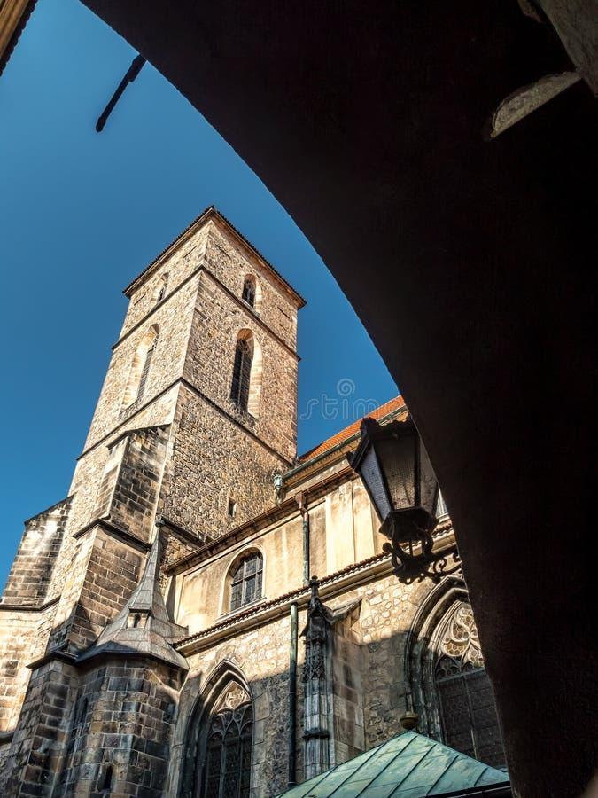 圣母玛丽亚,克沃兹科,波兰的做法的教会 免版税库存照片