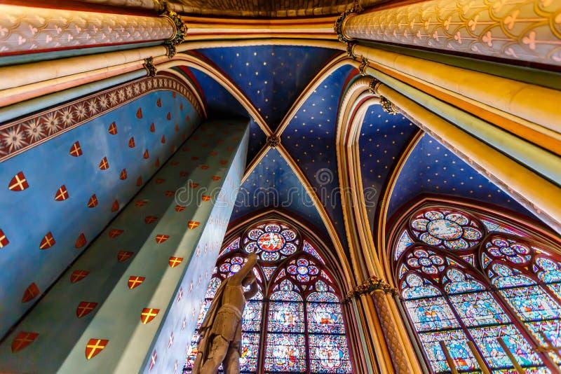 巴黎圣母院大教堂援引海岛 免版税库存图片