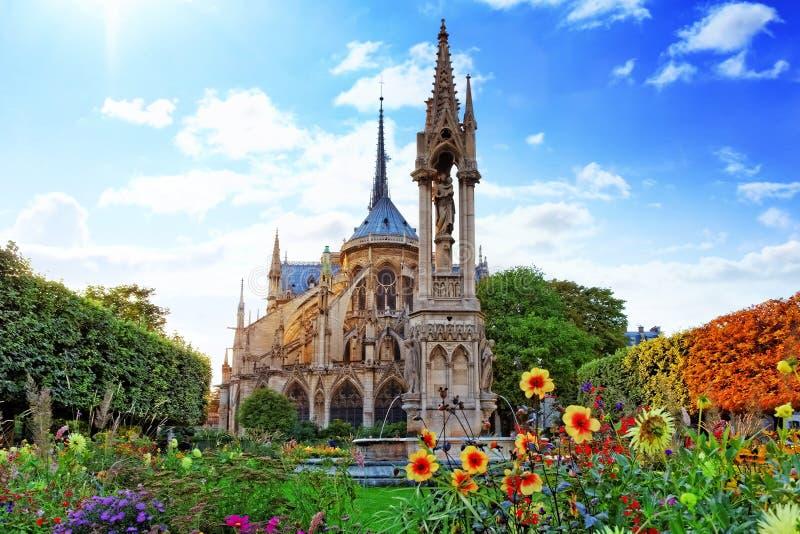 巴黎圣母院 免版税库存图片