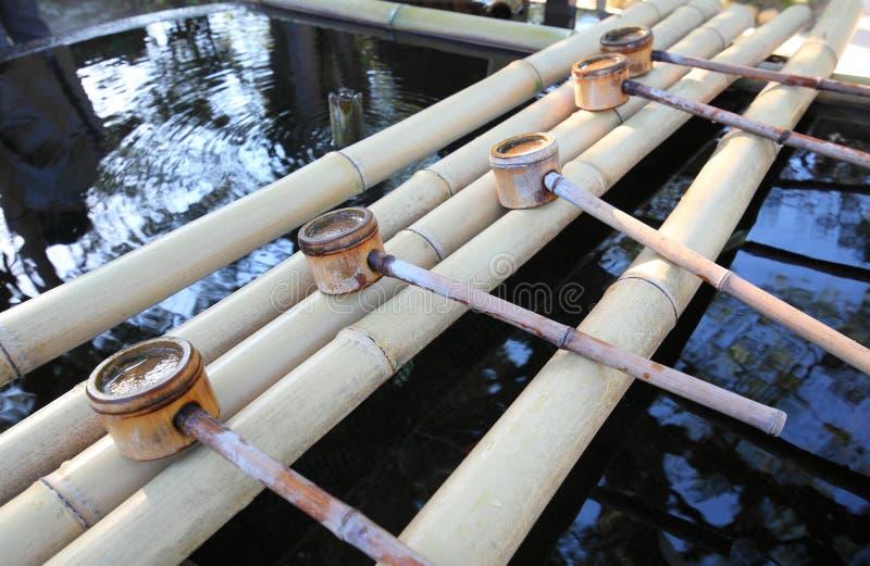 圣水井日本寺庙日本 免版税库存图片