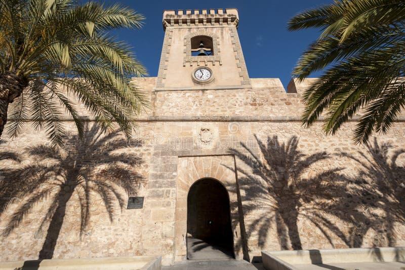 圣波拉城堡  图库摄影