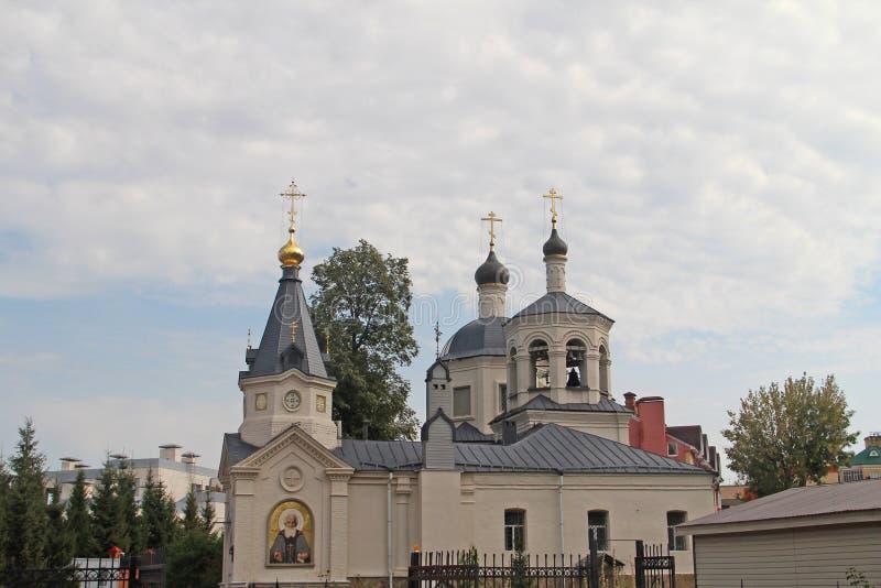 圣洁了不起的受难者Eudokia的教会 免版税库存图片