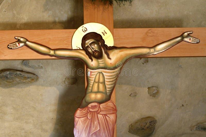 圣洁十字架 库存图片