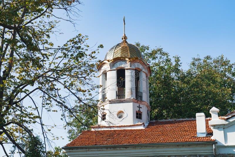 圣洁四十个受难者教会在大特尔诺沃 免版税库存图片