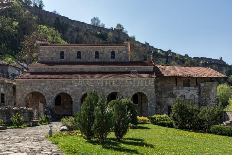 圣洁四十个受难者教会在市大特尔诺沃,保加利亚 免版税库存图片