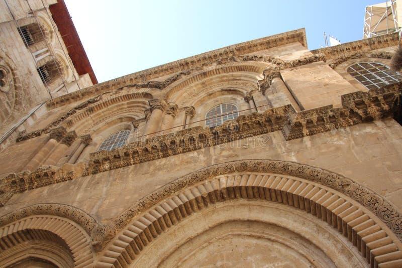 圣洁坟墓耶路撒冷的寺庙 库存照片