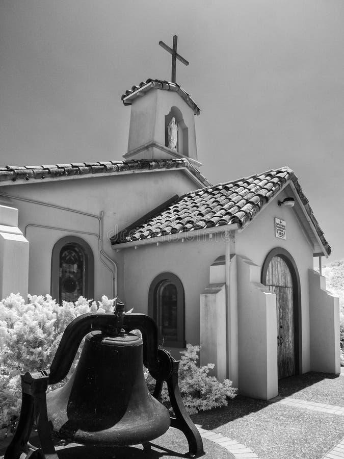 圣洁家庭天主教使命 库存照片