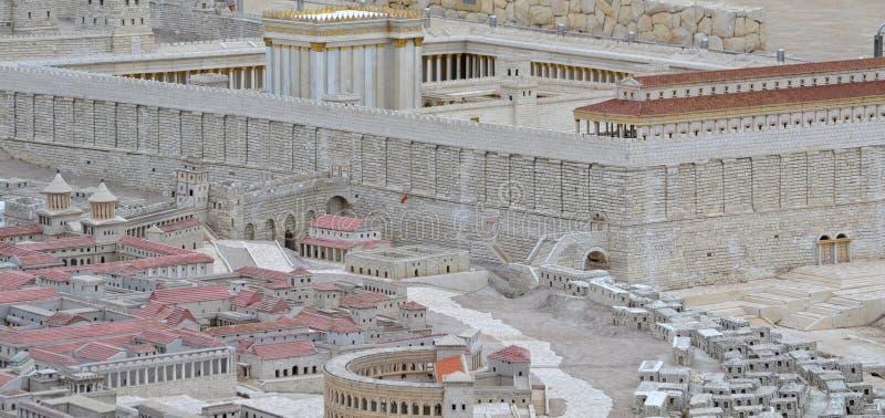 圣洁寺庙 免版税库存照片