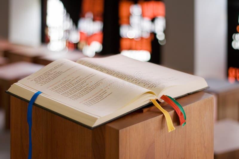 圣洁的书 免版税库存照片
