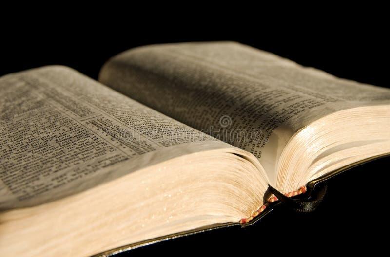 圣洁的圣经 免版税库存照片