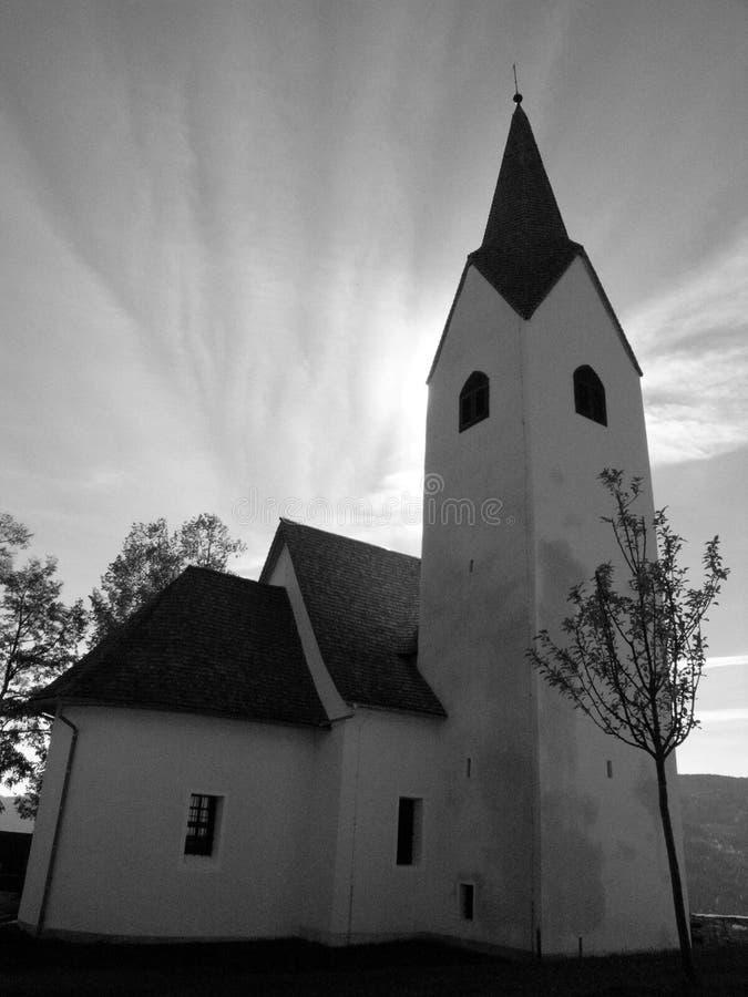 圣洁的教会 图库摄影