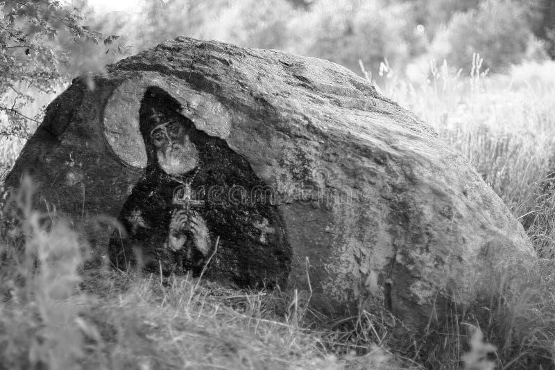 圣洁石头 免版税库存照片