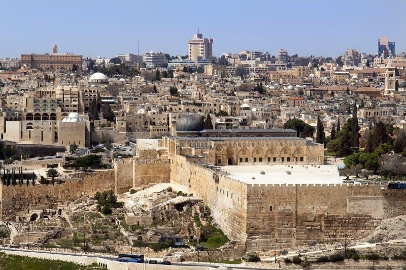 圣洁耶路撒冷地产 免版税图库摄影
