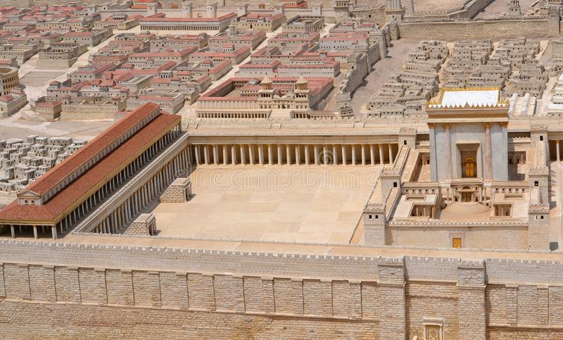 圣洁耶路撒冷寺庙 免版税库存图片