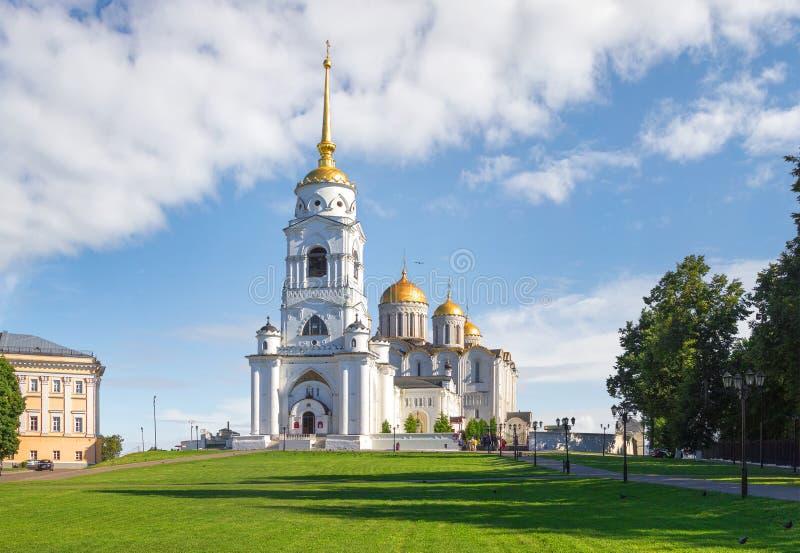 圣洁Dormition大教堂 俄国vladimir 免版税库存图片
