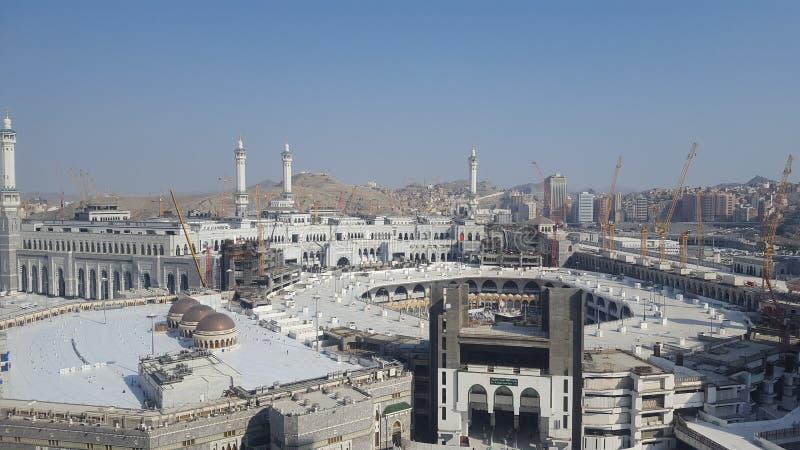 圣洁Kabbah在沙特阿拉伯 图库摄影