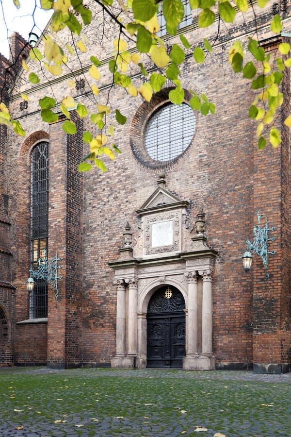 圣灵丹麦的教会:HelligÃ¥ndskirken在哥本哈根 库存照片