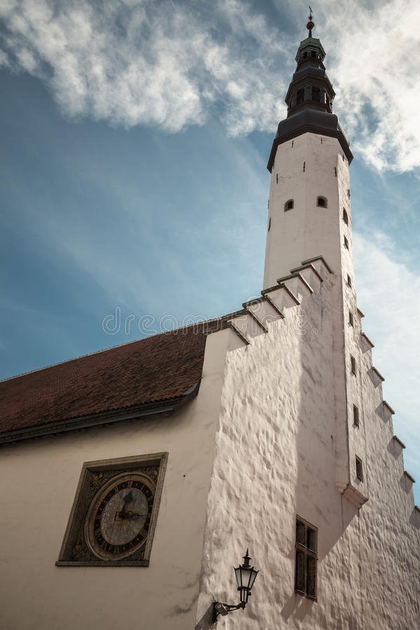圣灵教会的门面 免版税库存照片