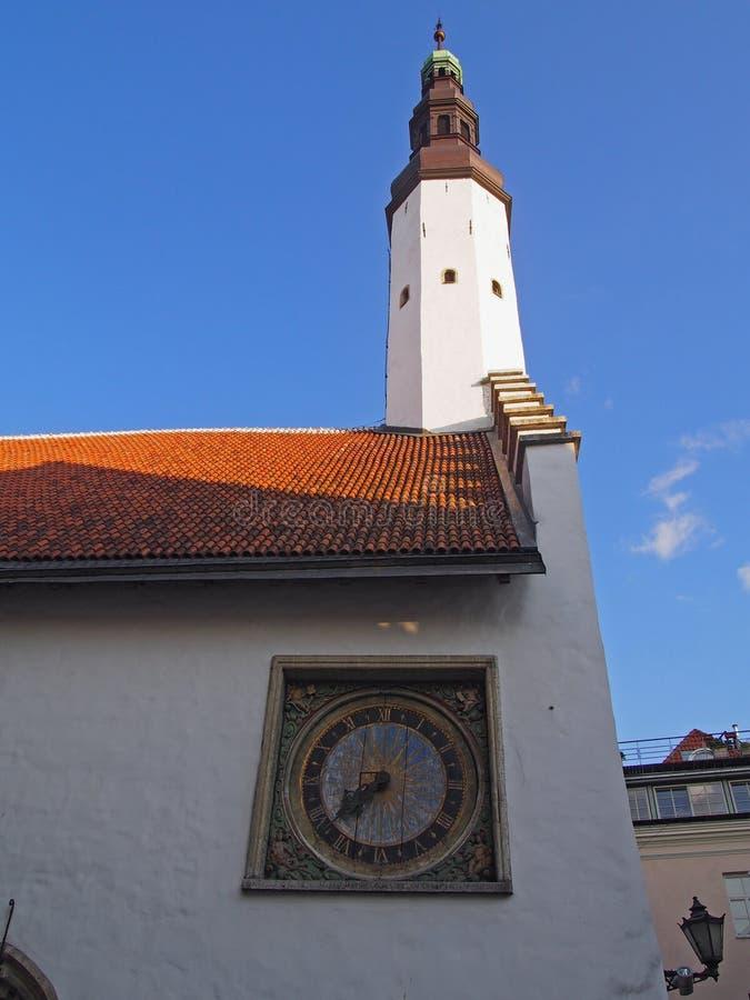 圣灵教会,塔林爱沙尼亚 免版税库存照片