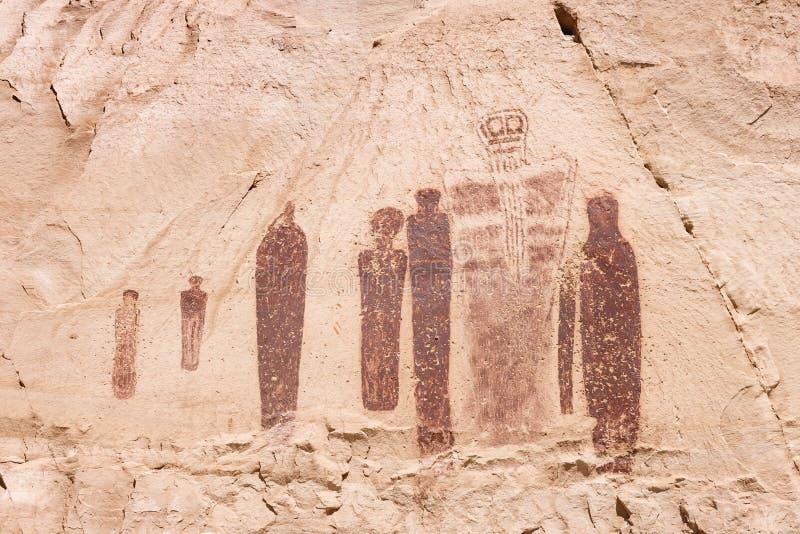 圣灵刻在岩石上的文字 免版税库存图片
