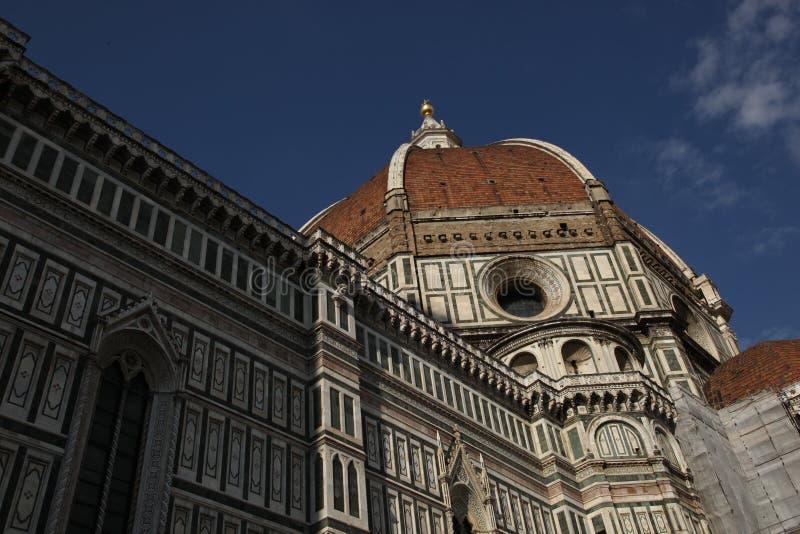 圣玛丽亚del菲奥雷,佛罗伦萨,意大利大教堂  免版税库存图片