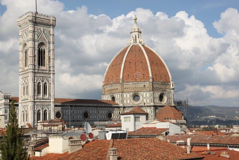 圣玛丽亚del菲奥雷,佛罗伦萨,意大利著名大教堂  免版税图库摄影