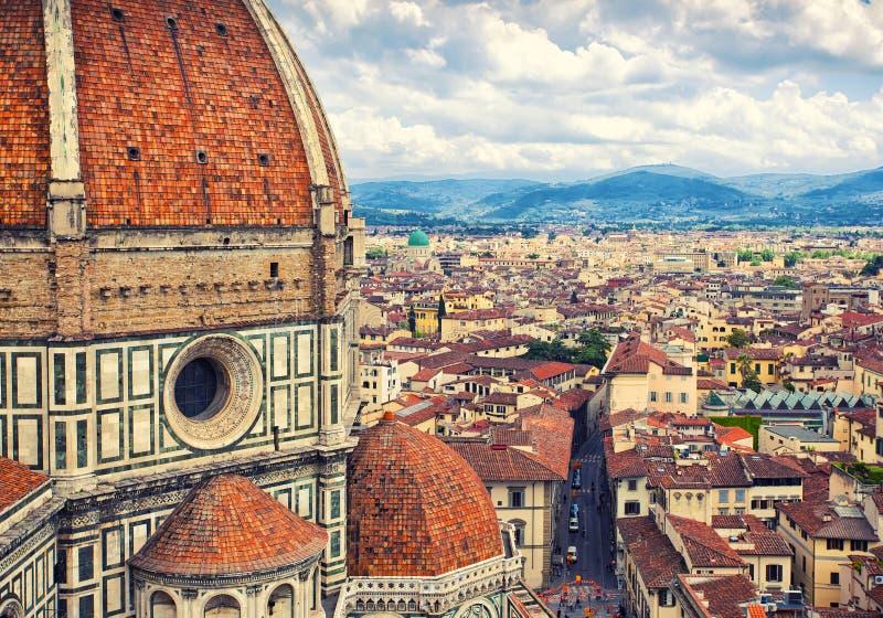 圣玛丽亚del菲奥雷,佛罗伦萨,意大利 免版税库存照片