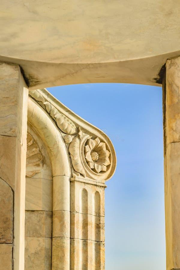圣玛丽亚del菲奥雷Lantern细节景色 免版税图库摄影