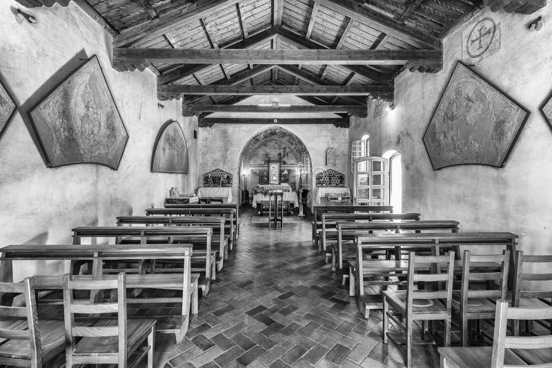 圣玛丽亚del Mare Indoor 库存照片