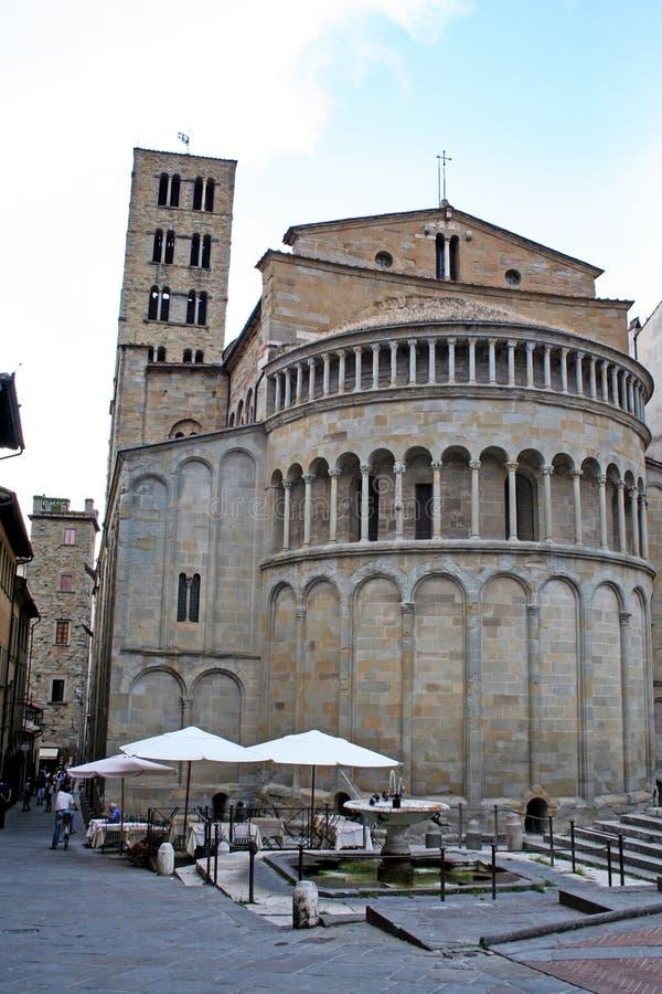 圣玛丽亚della Pieve 库存图片