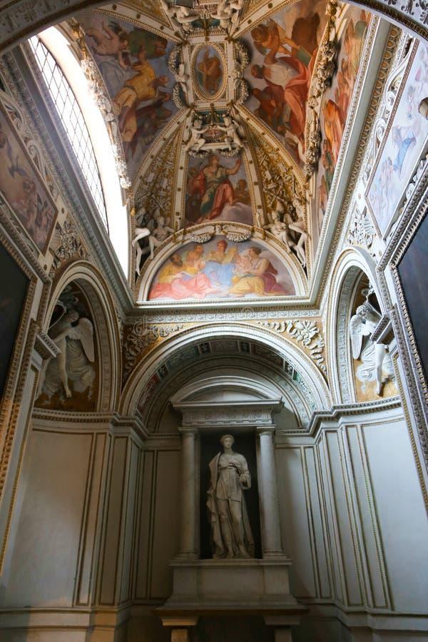 圣玛丽大教堂-罗马少校艺术  免版税图库摄影
