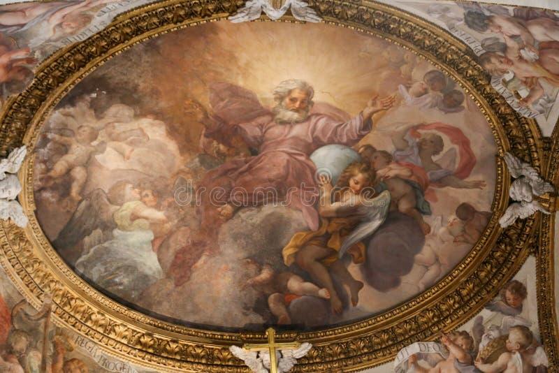 圣玛丽大教堂-罗马少校艺术  库存图片