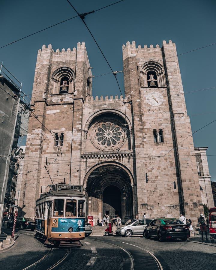 圣玛丽少校家长式大教堂  库存照片