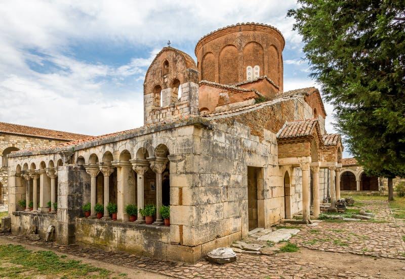 圣玛丽教会在Apollonia 库存照片