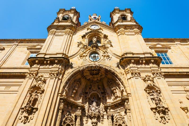 圣玛丽教会,圣塞瓦斯蒂安 免版税库存图片