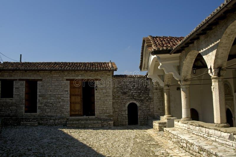 圣玛丽教会, Berati,阿尔巴尼亚 库存照片