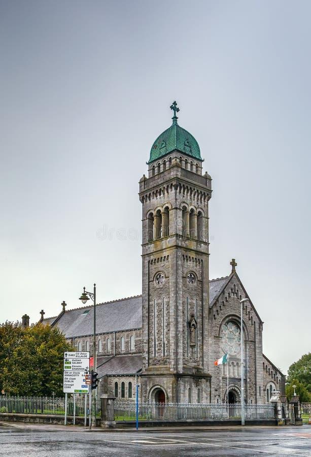圣玛丽的教会,五行民谣,爱尔兰 免版税库存照片