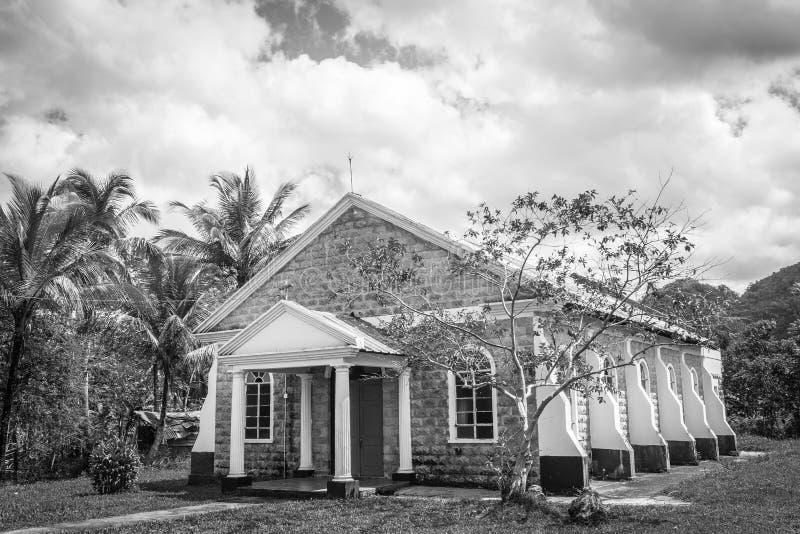 圣玛丽的罗马天主教堂在牙买加 库存照片